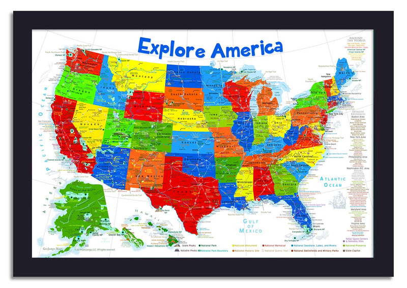 us map for kids