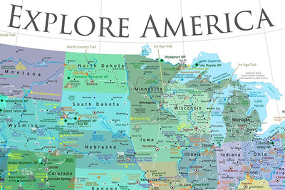 explore america usa map