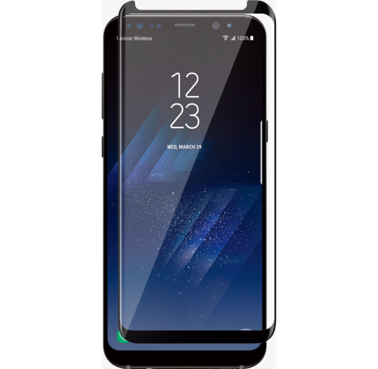 Galaxy S8 Ultra Clear 6D Tempered Glass Screen Protector