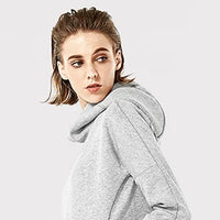 FEMALE SWEATER WARM HOODED PULLOVER SPORTS JACKET