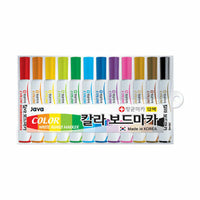 JAVA WhiteBoard Marker-12 Color Set