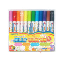 Twistable Jelly Crayon (12 colors, washsable, Non-Tonic, for age over 3years old) made in Korea