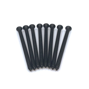 "#14x4"" Black Deck Screws (8pcs)"