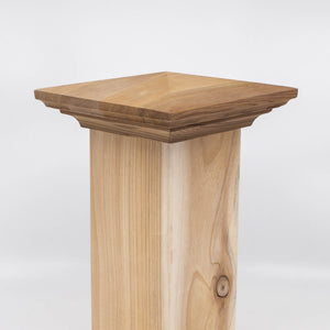 Pyramid Wood Post Cap