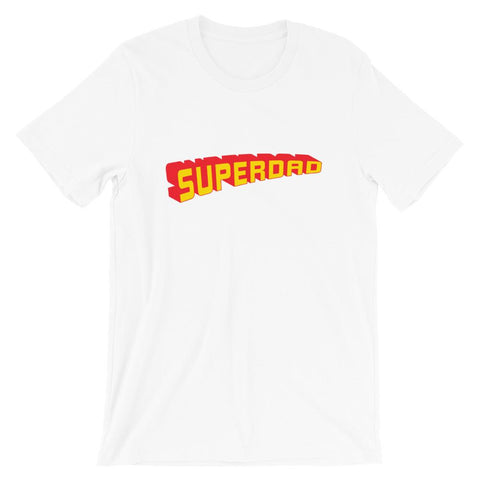 Super dad Short-Sleeve Unisex T-Shirt Wreckedfashionstore