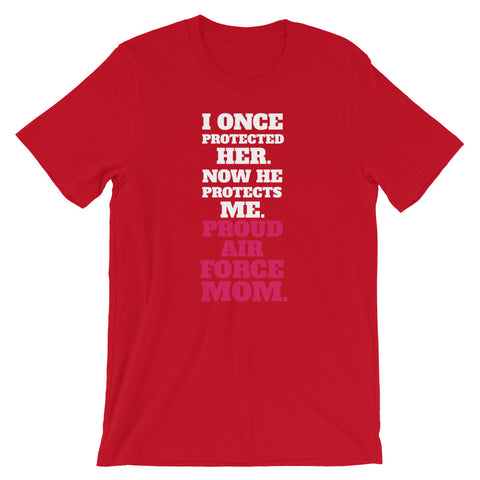 Air Force Mom Short-Sleeve Unisex T-Shirt