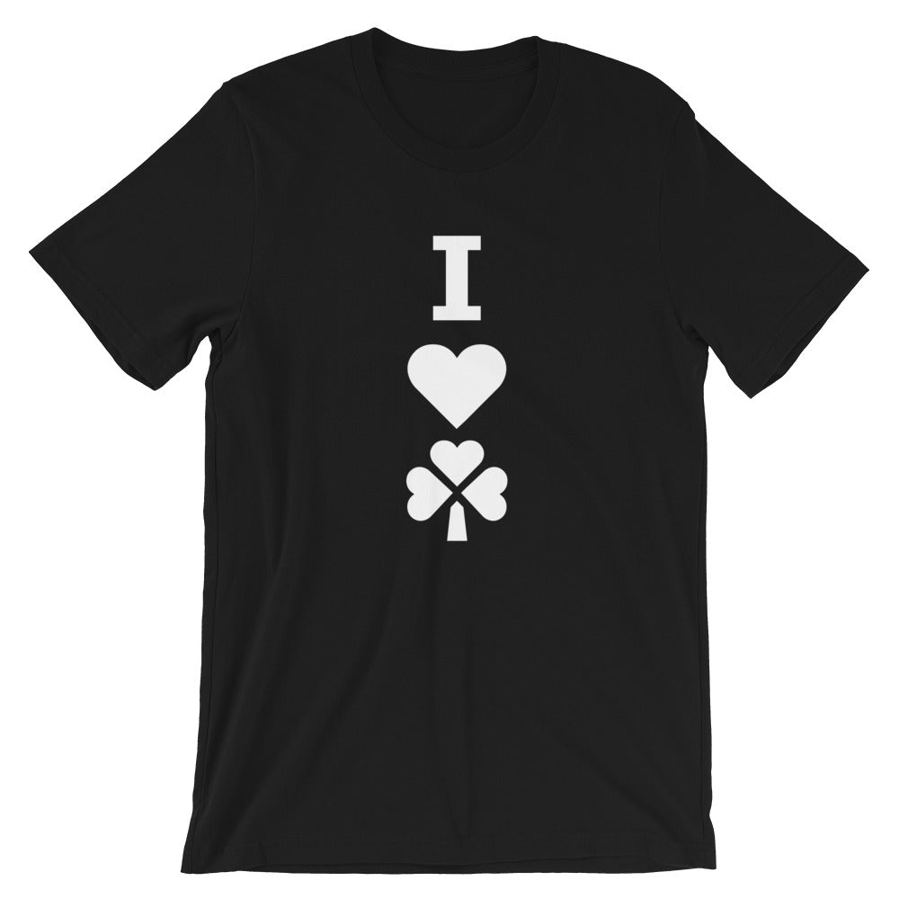 2020 I Love Irish Short-Sleeve Unisex T-Shirt