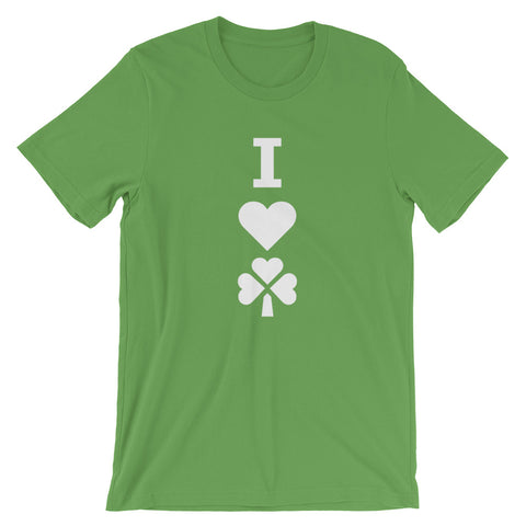 Image of 2020 I Love Irish Short-Sleeve Unisex T-Shirt