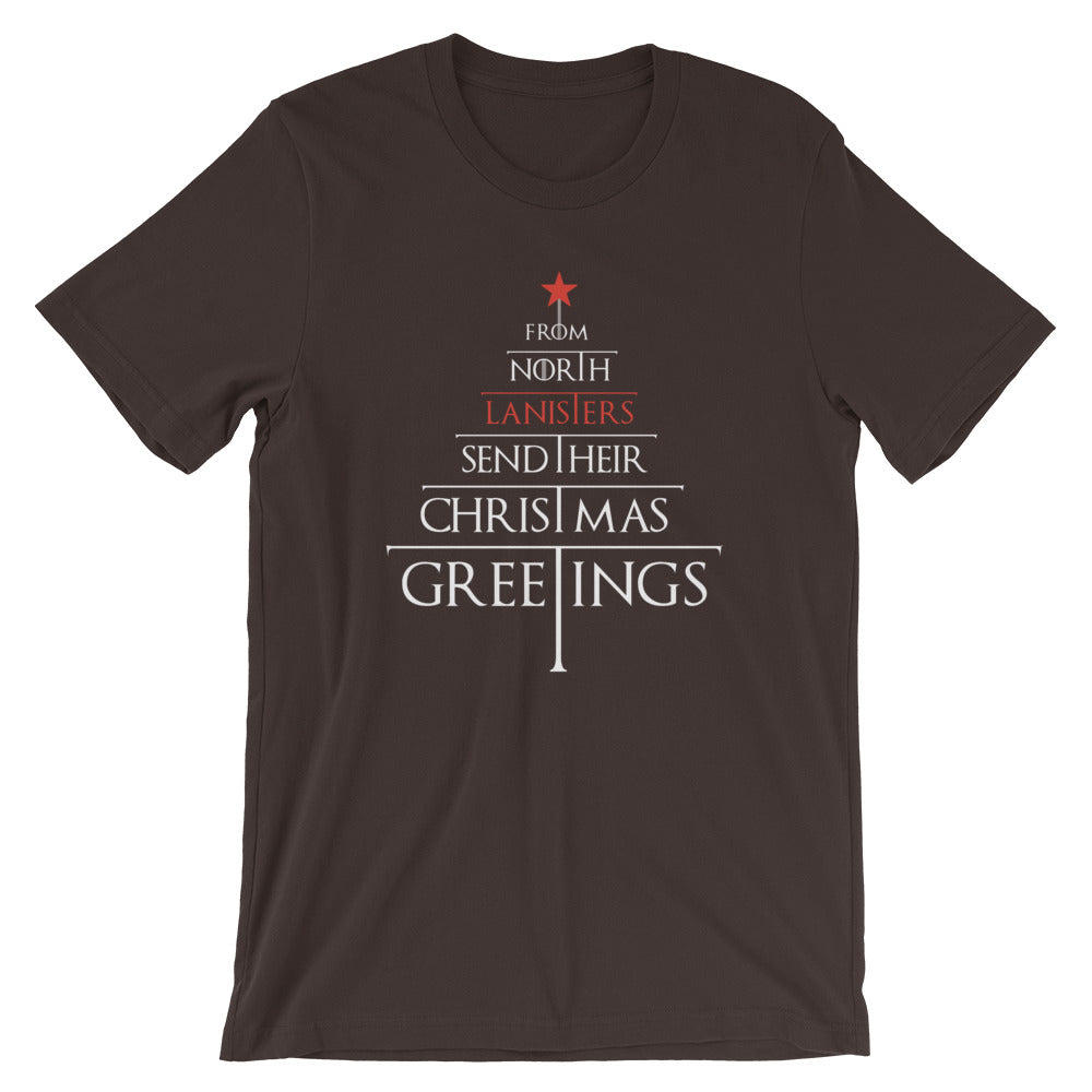 2020 Lanister Game of Thrones Christmas Wishes Short-Sleeve Unisex T-Shirt
