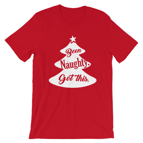 Been Naughty Got this - Funny Christmas Tee