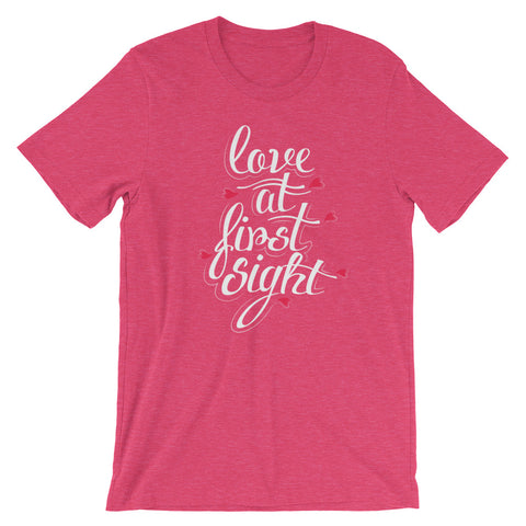 Image of Love at first sight Short-Sleeve Unisex T-Shirt