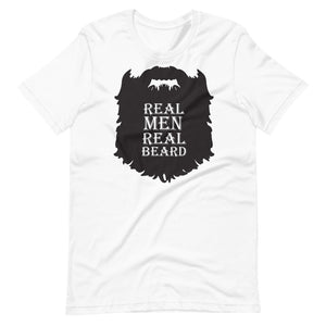 Real Men Real Beard T Shirt - Beard Shirts For Men
