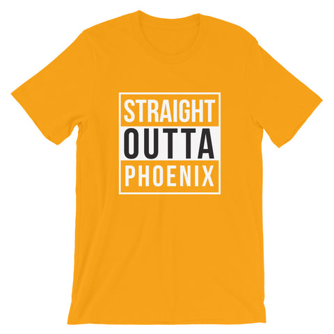Straight Outta Phoenix Short-Sleeve Unisex T-Shirt