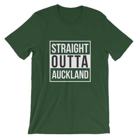 Image of Straight Outta Auckland Short-Sleeve Unisex T-Shirt