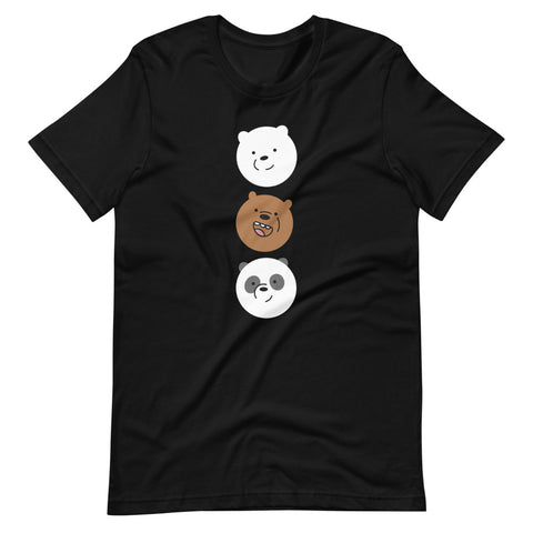 We Bare Bears T shirt - Most Trending T shirt