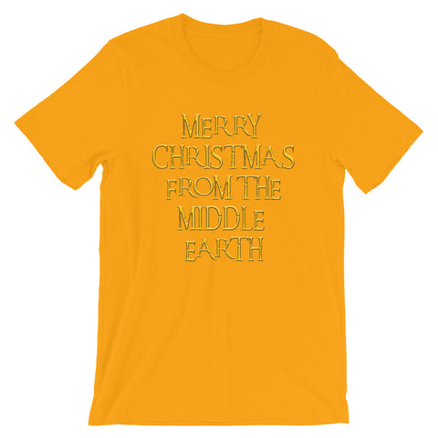 Merry Christmas Short-Sleeve Unisex T-Shirt