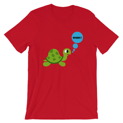 Tortise Short-Sleeve Unisex T-Shirt