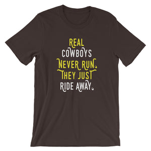Cowboy Short-Sleeve Unisex T-Shirt