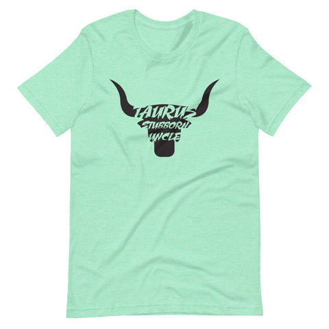 Image of Taurus Stubborn Uncle Short-Sleeve Unisex T-Shirt