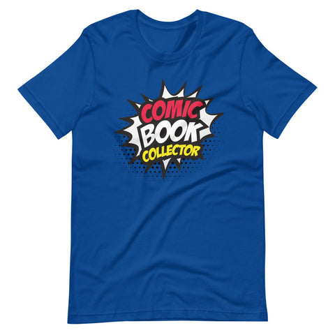 Image of Comic Book Collector Short-Sleeve Unisex T-Shirt