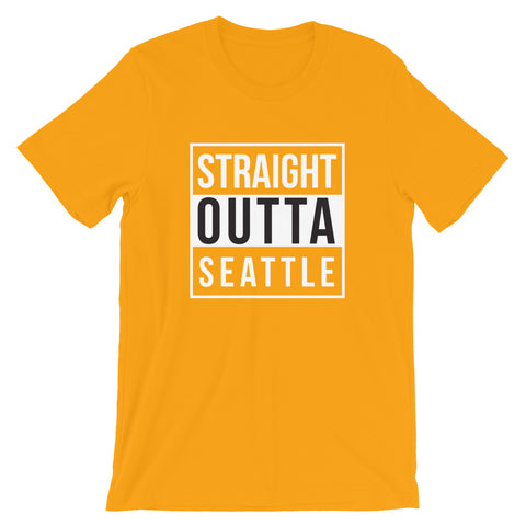 Straight Outta Seattle Short-Sleeve Unisex T-Shirt