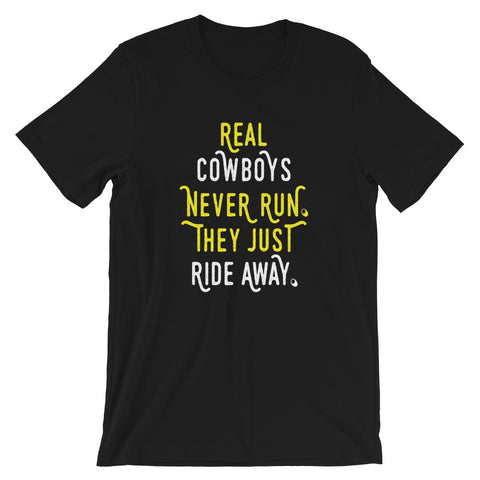 Image of Cowboy Short-Sleeve Unisex T-Shirt
