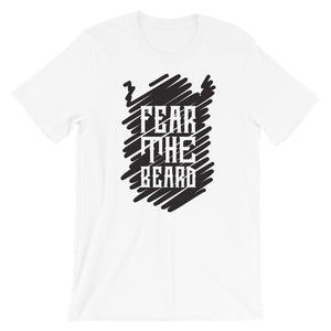 2020 Fear the Beard T Shirt - Beard Short Sleeve Unisex T-Shirt