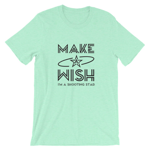 Image of Make a Wish Short-Sleeve Unisex T-Shirt