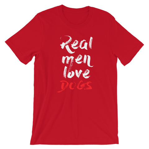 Dog Lover t shirt 2020 - Real Men Love Dogs