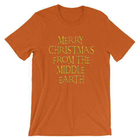 Image of Merry Christmas Short-Sleeve Unisex T-Shirt