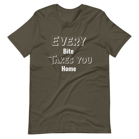 Image of Every Bite Take you Home T-Shirt - Chef shirts funny