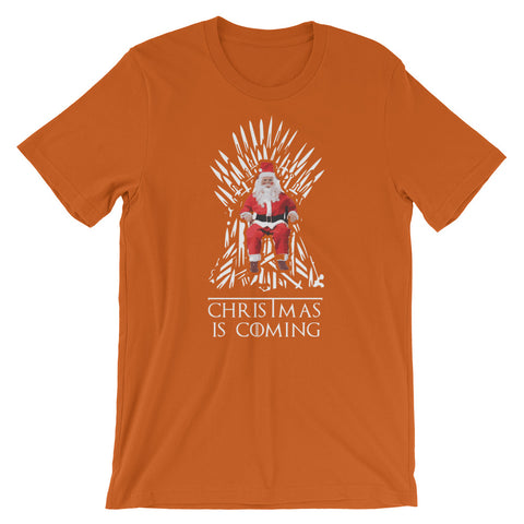Winter is Coming Short-Sleeve Unisex T-Shirt