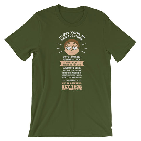 Image of Get Your Shit Together 2020 Adults Gag Gifts Offensive graphic T Shirt