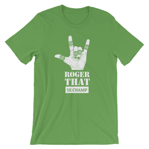 Image of Roger That Short-Sleeve Unisex T-Shirt