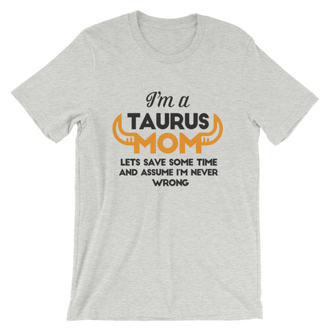 Image of Taurus Mom Short-Sleeve Unisex T-Shirt