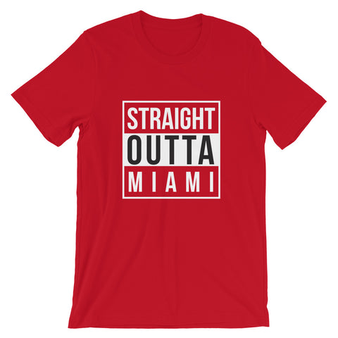 Image of Straight Outta Miami Short-Sleeve Unisex T-Shirt