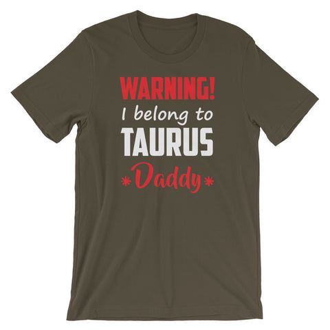 Taurus Daddy Short-Sleeve Unisex T-Shirt