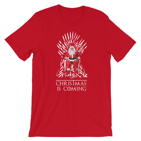 Image of Winter is Coming Short-Sleeve Unisex T-Shirt