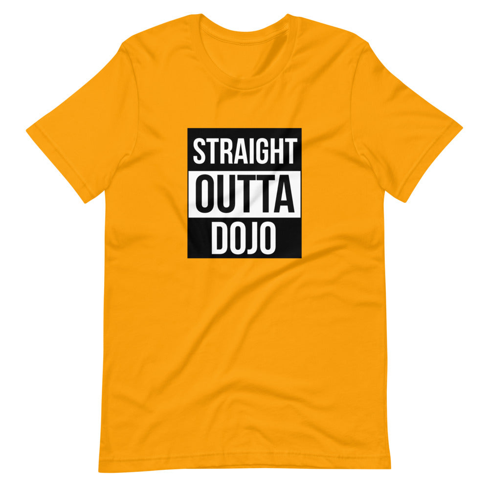 Straight outta Dojo Short-Sleeve Unisex T-Shirt