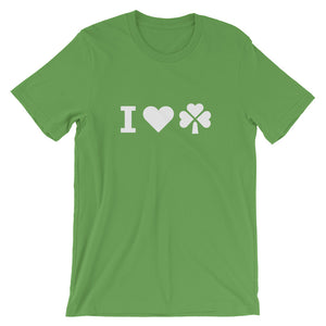 I Love Irish 2020 Short-Sleeve Unisex T-Shirt