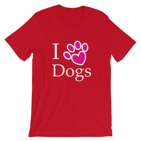 Image of 2020 Cute I Love My Dog Puppy Paw Heart T-Shirt - Dog lover T Shirt 2020