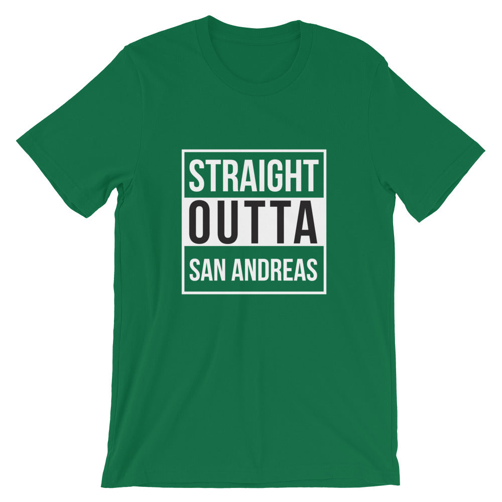 Straight Outta San Andreas Short-Sleeve Unisex T-Shirt