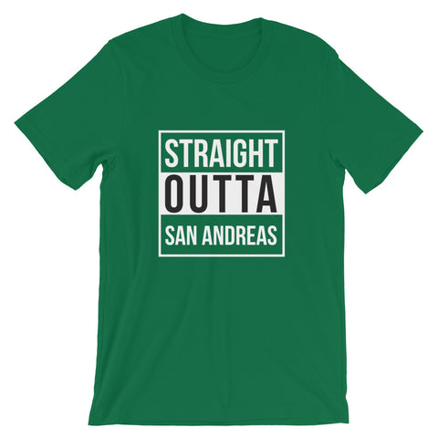 Image of Straight Outta San Andreas Short-Sleeve Unisex T-Shirt