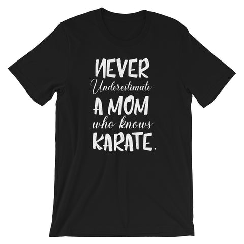 Karate Mom Short-Sleeve Unisex T-Shirt