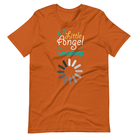 Image of Maternity Graphic T Shirt - Little Angel Loading