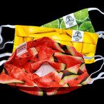 Load image into Gallery viewer, Fruit Salad 2.0 Face Mask | 3 Pack | Verba Design Co.