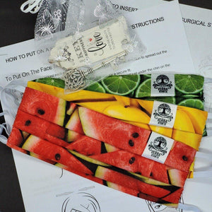 Fruit Salad 2.0 Face Mask | 3 Pack | Verba Design Co.