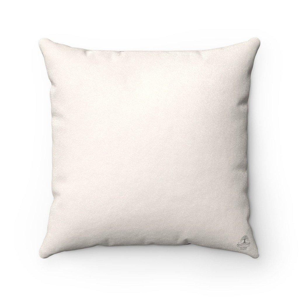KINFOLK LINEN Faux Suede Throw Pillow | Verba Design Co.