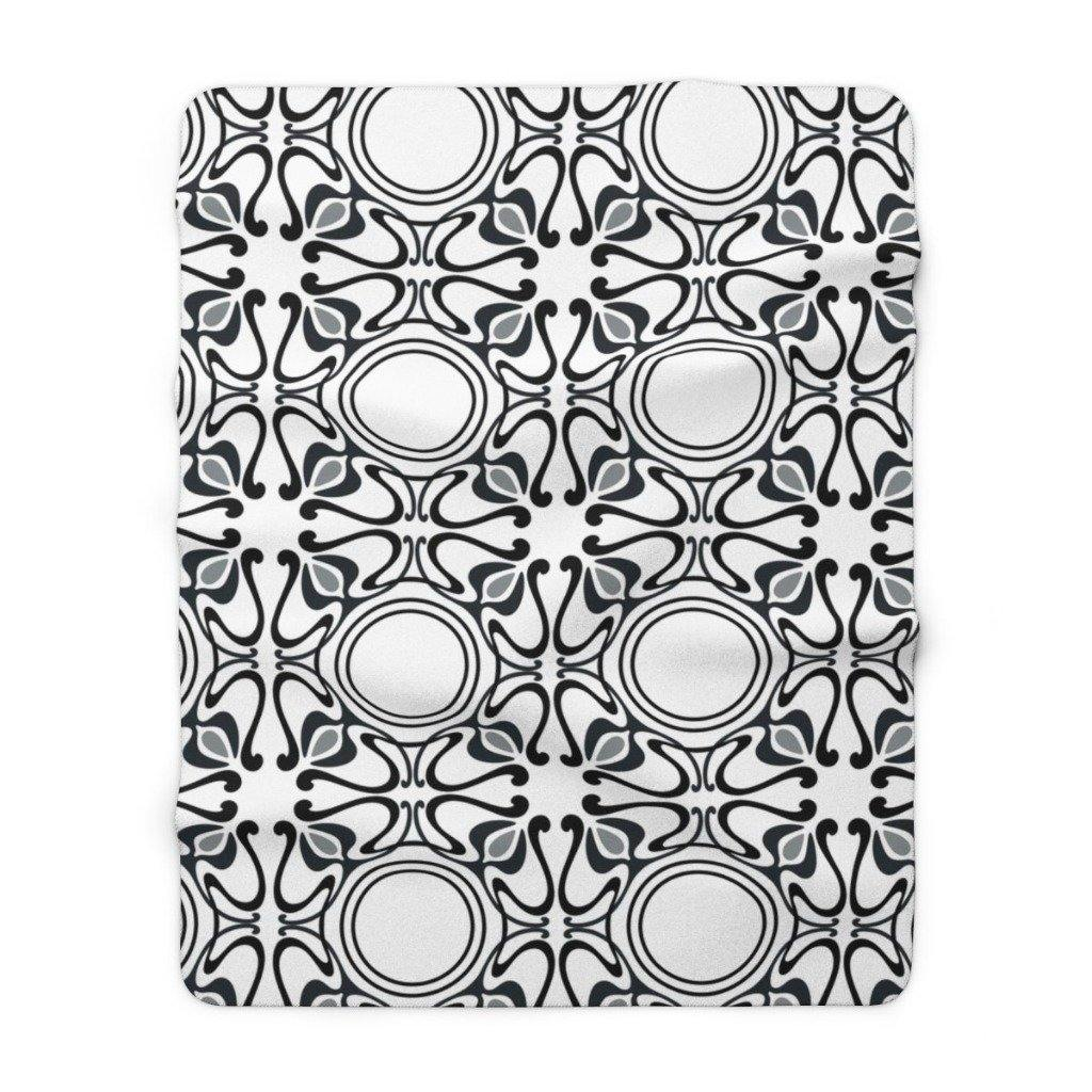 KALEIDOSCOPE Sherpa Fleece Blanket | Verba Design Co.