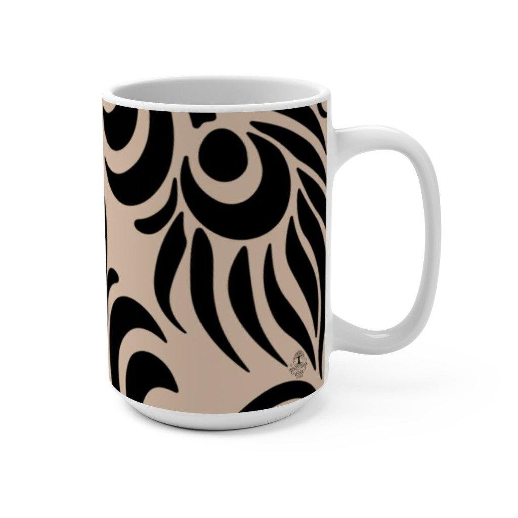 FEATHER Ceramic Mug | 15oz | Verba Design Co.